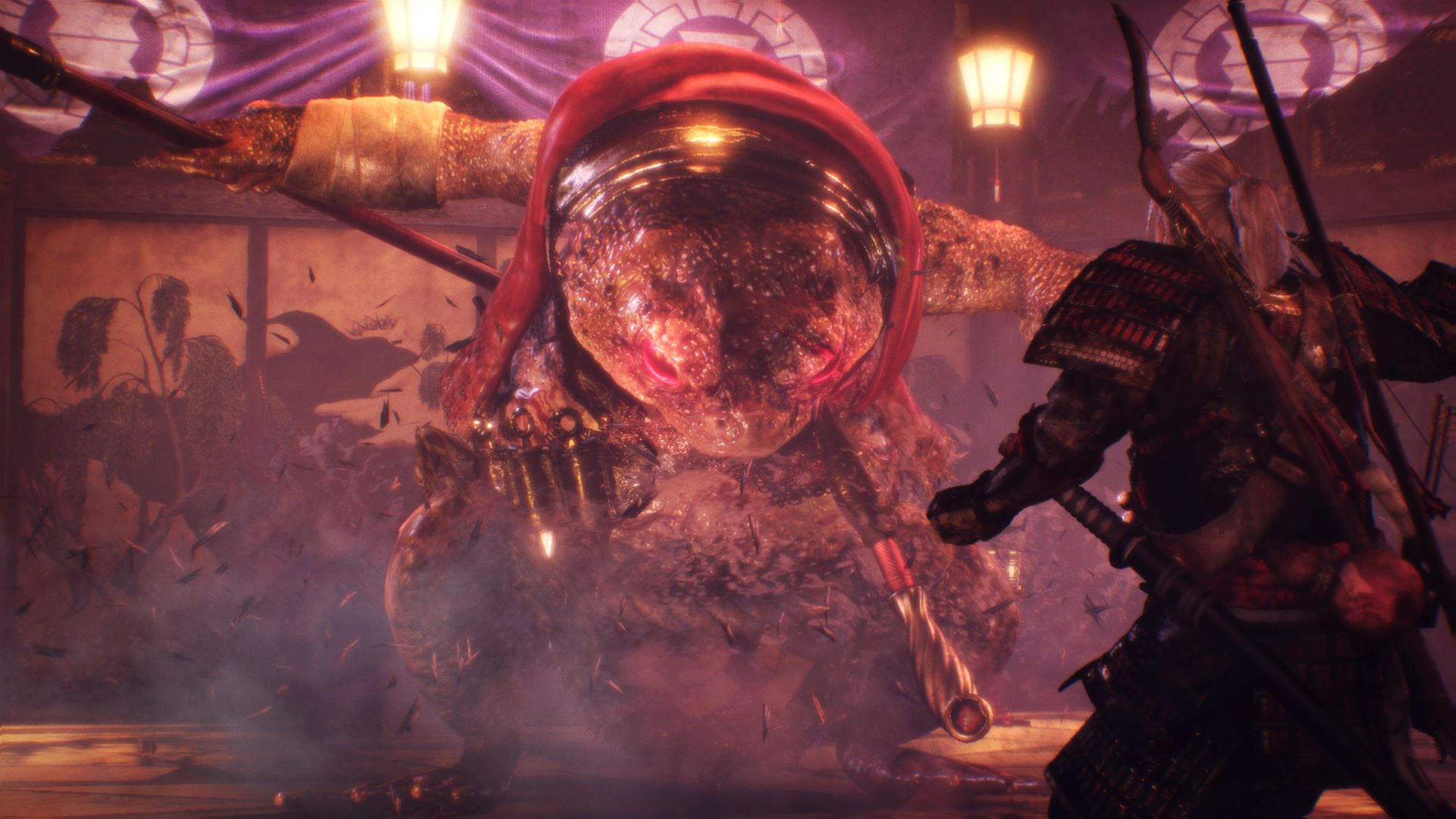 giant toad nioh boss