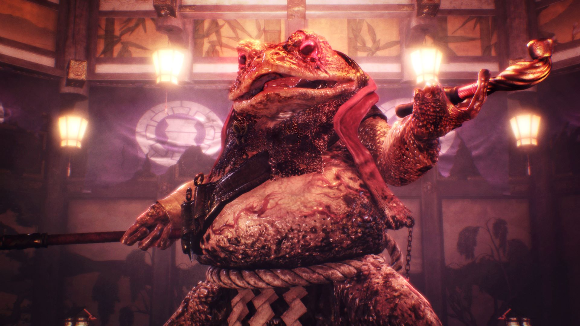 giant toad nioh boss 2